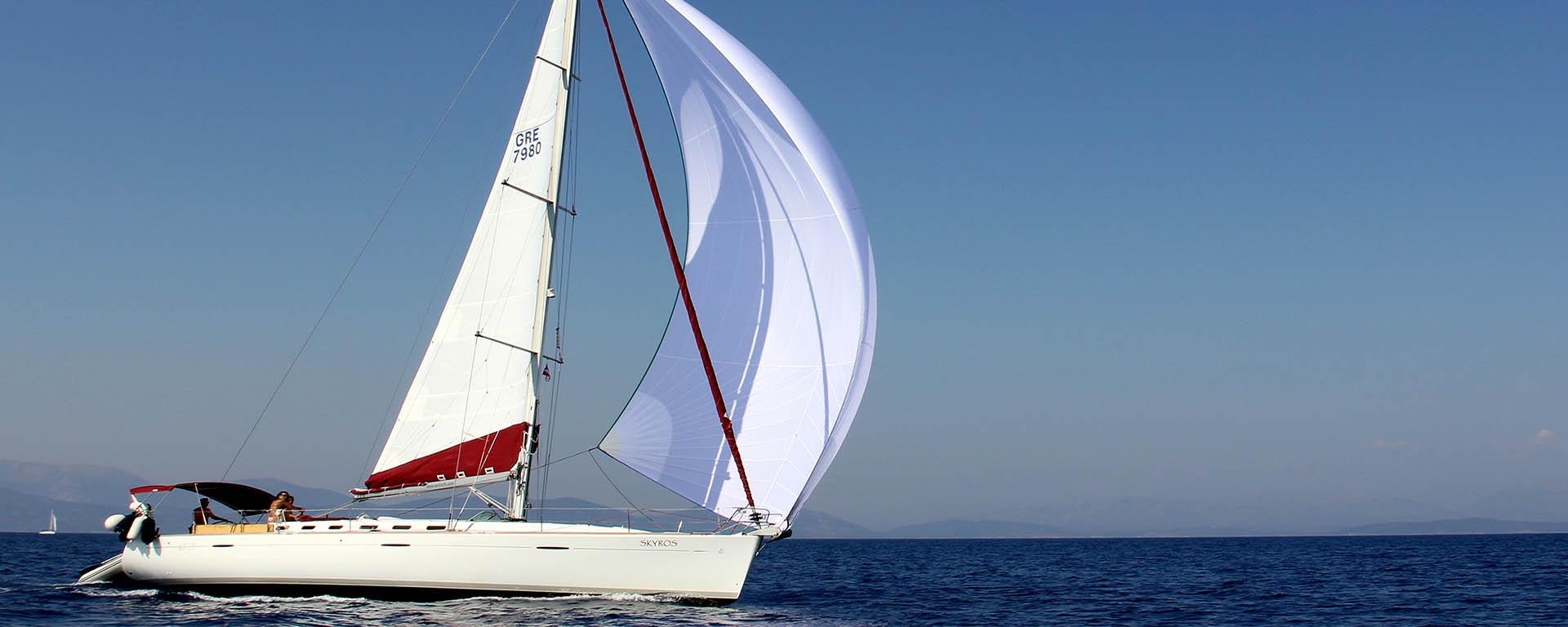 sail corfu yacht charter